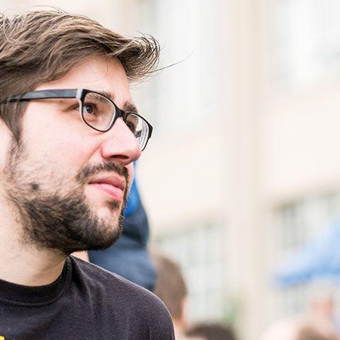 Projektmanager Stefan Kaufmann